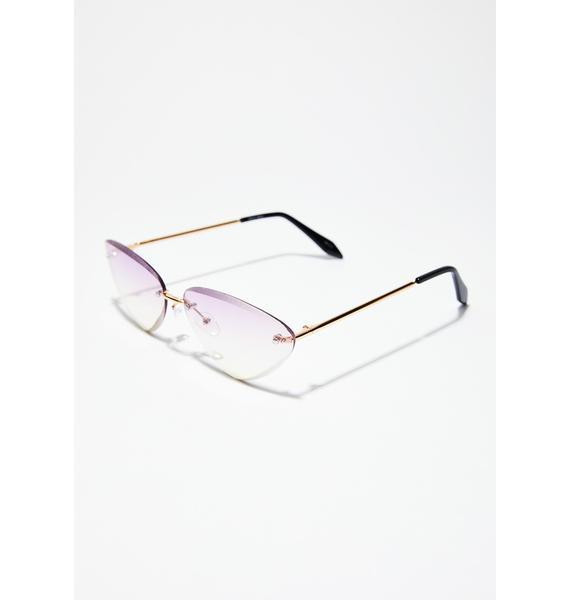 Periwinkle Penny Sunglasses