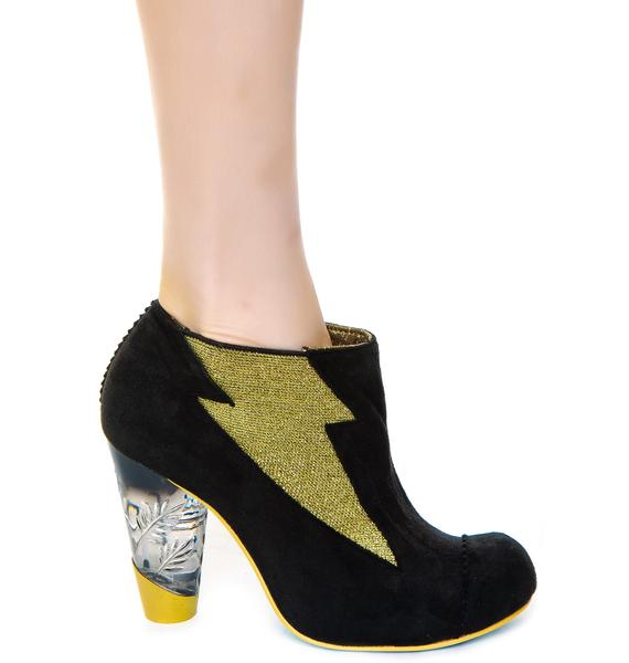 Irregular Choice Honey Blossom Ankle Boots