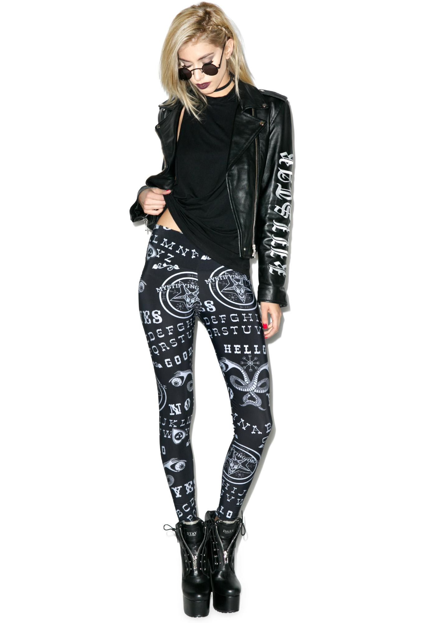 Too Fast Ouija Leggings