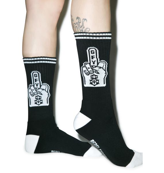 Rebel8 Go Fuck Yourself Socks