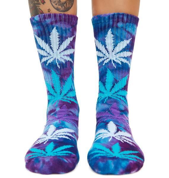 HUF Blue Dream Plantlife Strains Crew Sock