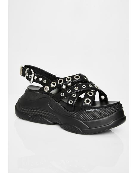 All Me Platform Sandals