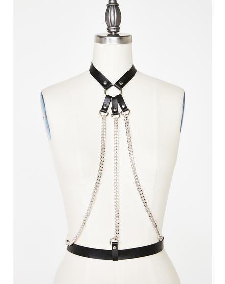 Savage Landz Chain Harness