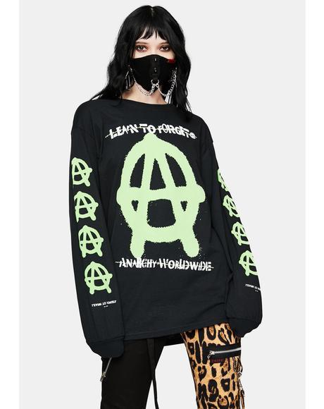Anarchy Worldwide Long Sleeve Tee