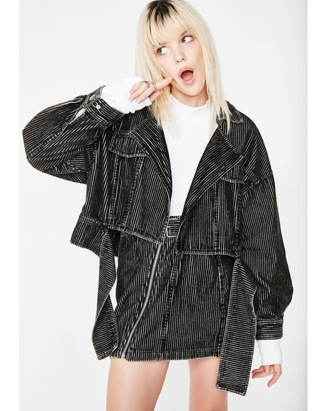 Breathe You In Moto Jacket
