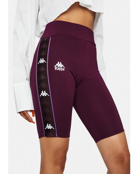Berry 222 Banda Cartin Biker Shorts