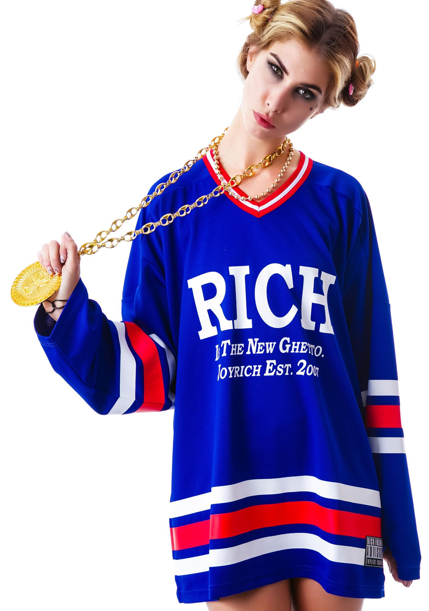 Joyrich Rich 7 Football Long Sleeve Tee