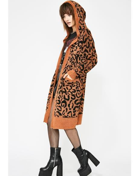 Savage Attack Leopard Cardigan