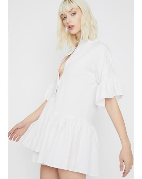 Pure Romantic Antics Shirt Dress