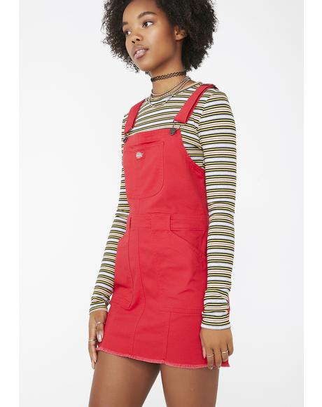 Lit Overall Dress