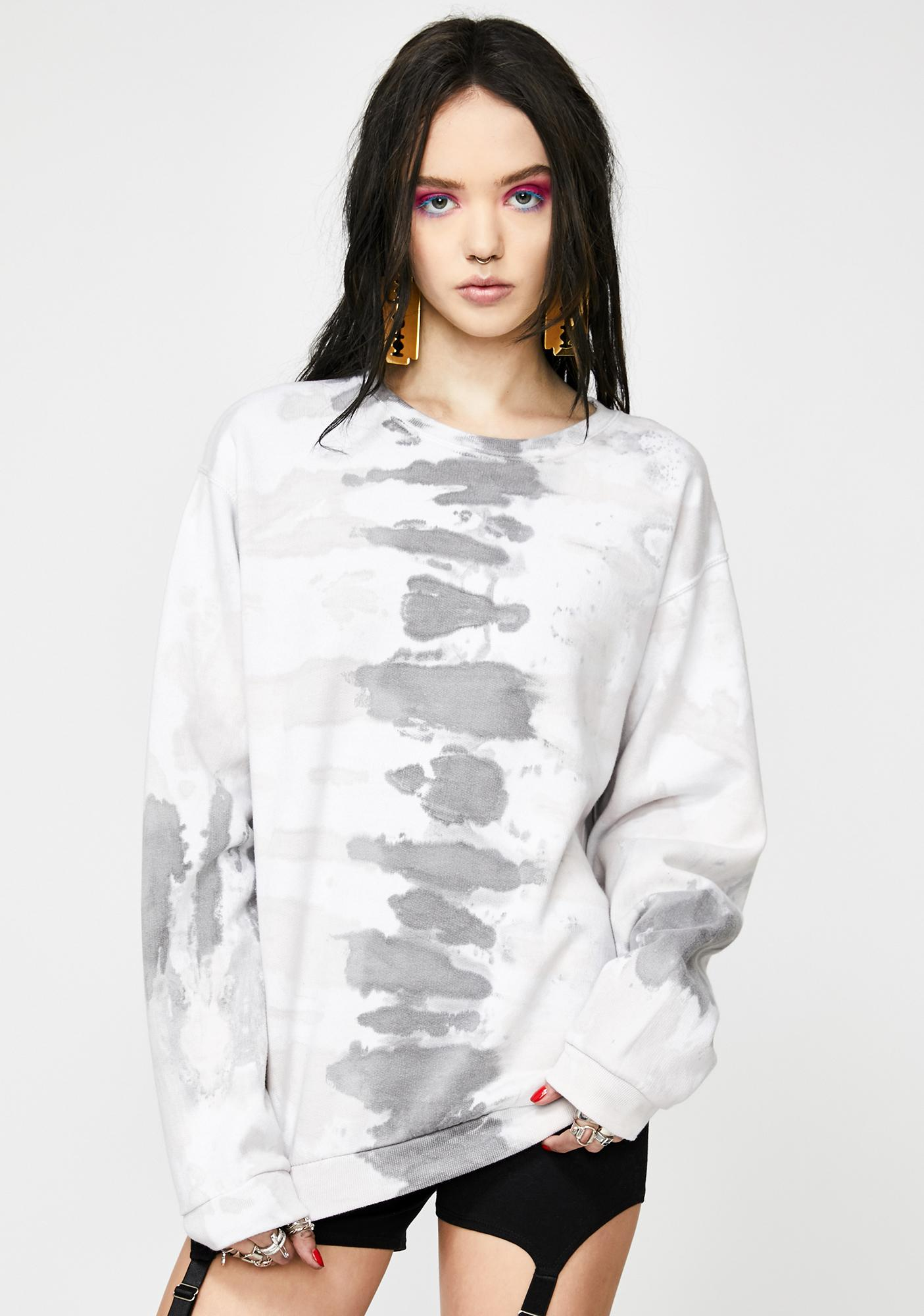 Girls BABE Tie Dye Pullover