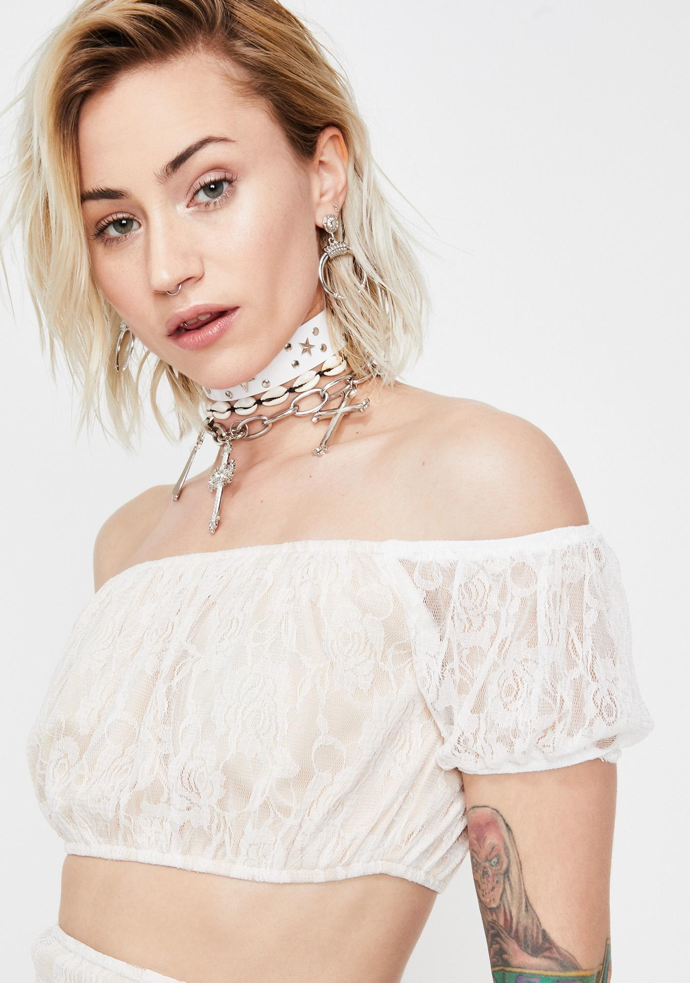 Love Escapade Lace Top