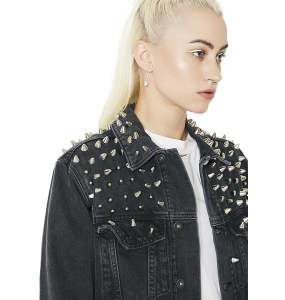 The Ragged Priest Amplify Denim Jacket