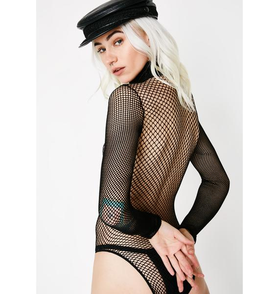 Give Ya Fever Fishnet Bodysuit