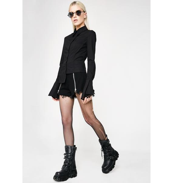 Punk Rave Slim Blouse