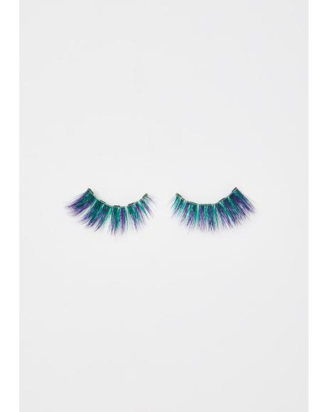 Eccentric Blue Magnetic Lashes