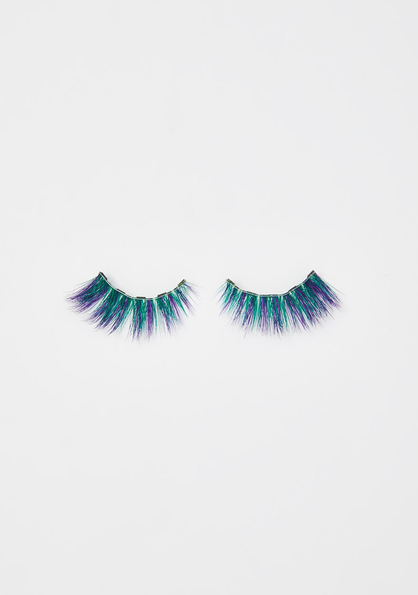 Glamnetic Eccentric Blue Magnetic Lashes