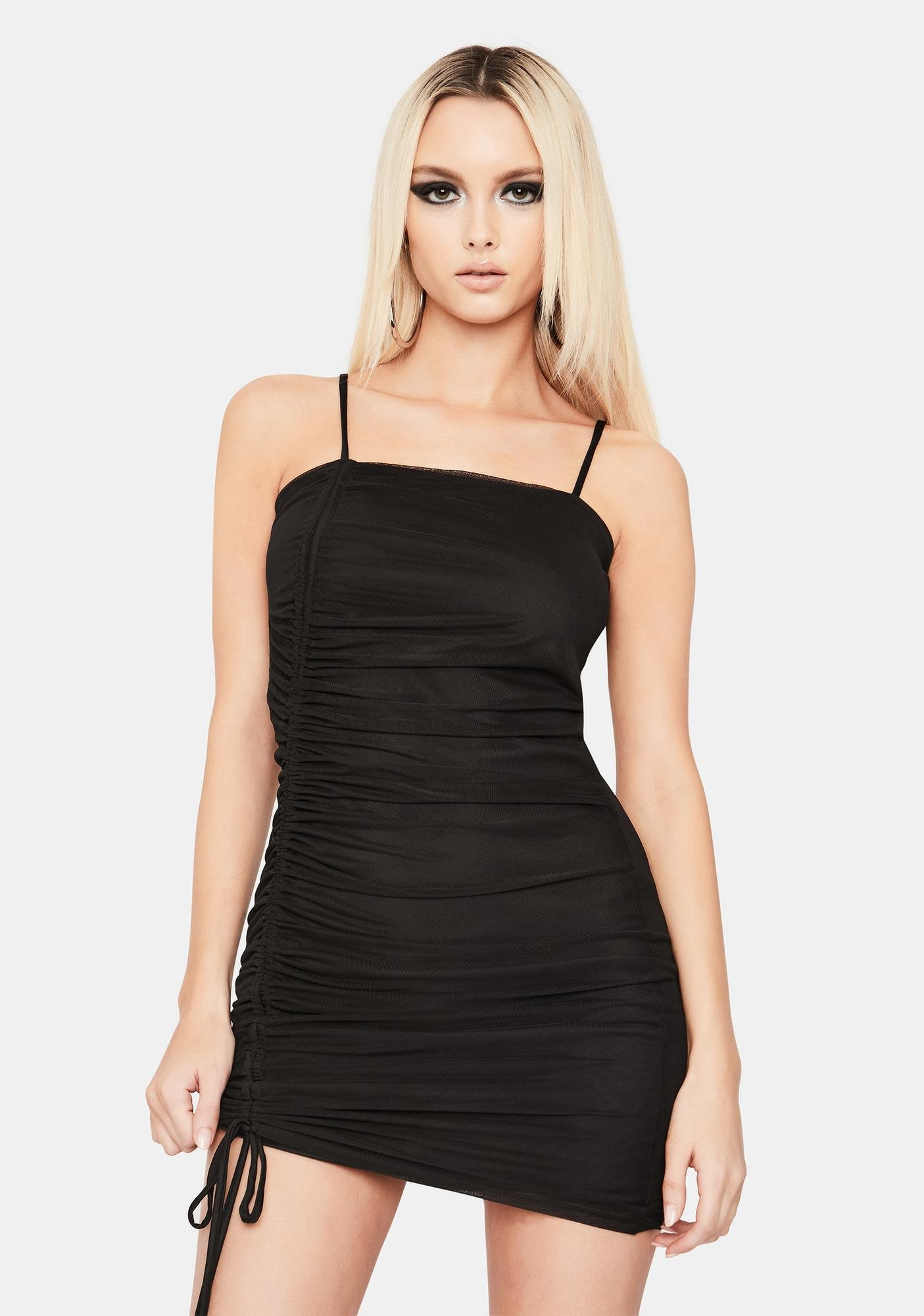 More Than Life Ruched Bodycon Dress