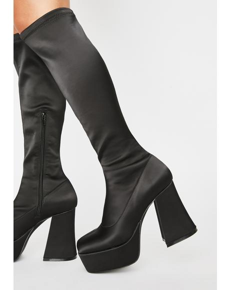 Made In Manhattan Knee High Boots