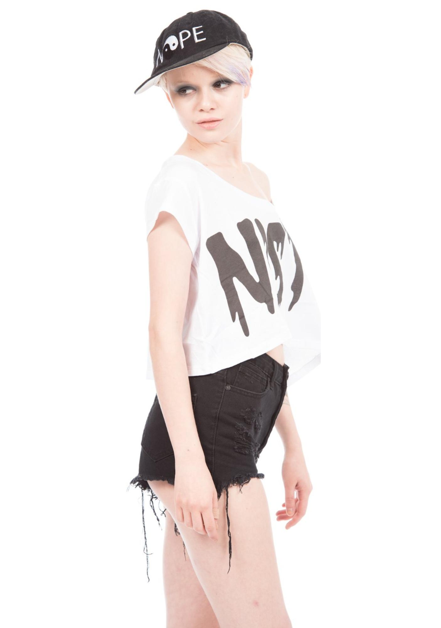 HLZBLZ X Belle Of The Brawl Nasty Cropped Tee