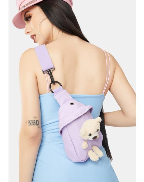 Gem Bear With Me Pastel Crossbody Bag