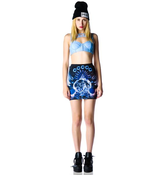 Evil Twin Virtual Insanity Skirt