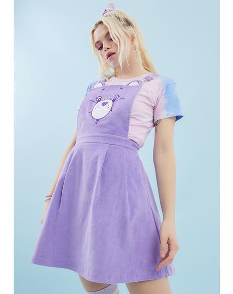 Care-A-Lot Pinafore Dress