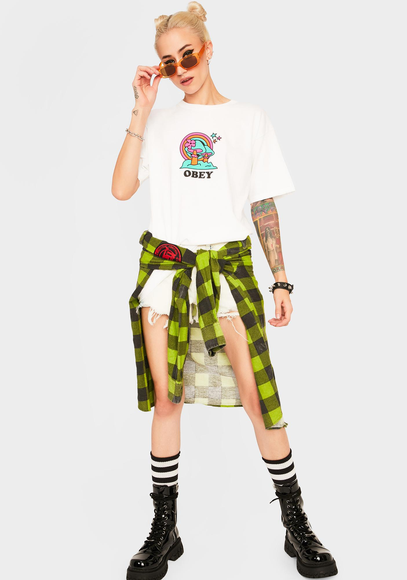 Obey Happy Land Graphic Tee
