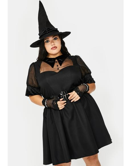 Mz Tricks N' Treats Witch Costume Set
