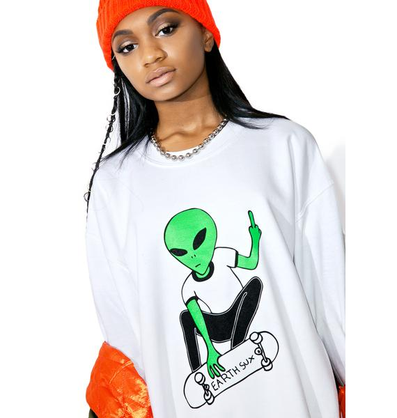 Moon River Collective Earth Sux Crewneck