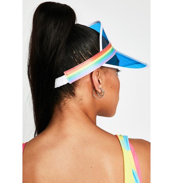 Spring Breaker Rainbow Visor