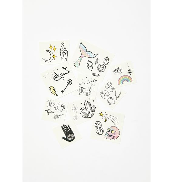 INKED by Dani Luck N' Magic Temporary Tattoo Pack