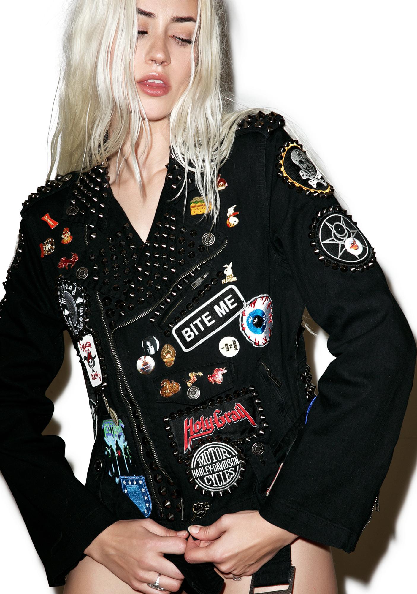 Hazmat Design Pinhead Patch Jacket