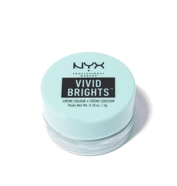 NYX Aqua Sapphire Vivid Brights Creme Colour