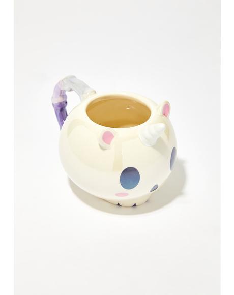 Elodie Unicorn Skull Mug