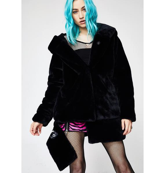 Outerspace Sexy Rabbit 3-Way Coat