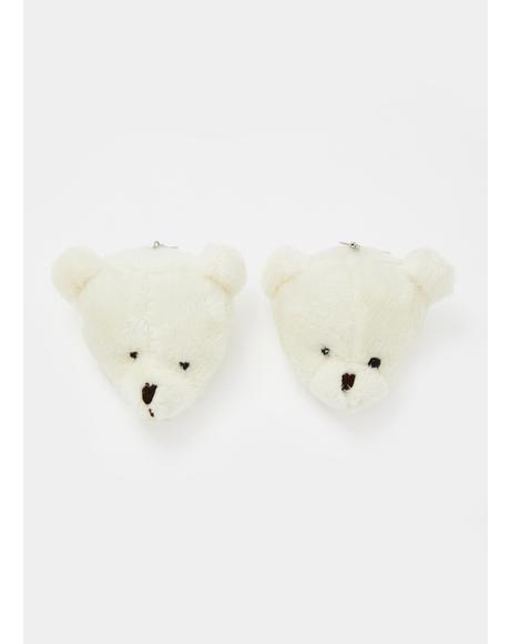 Bear Minimum Drop Earrings
