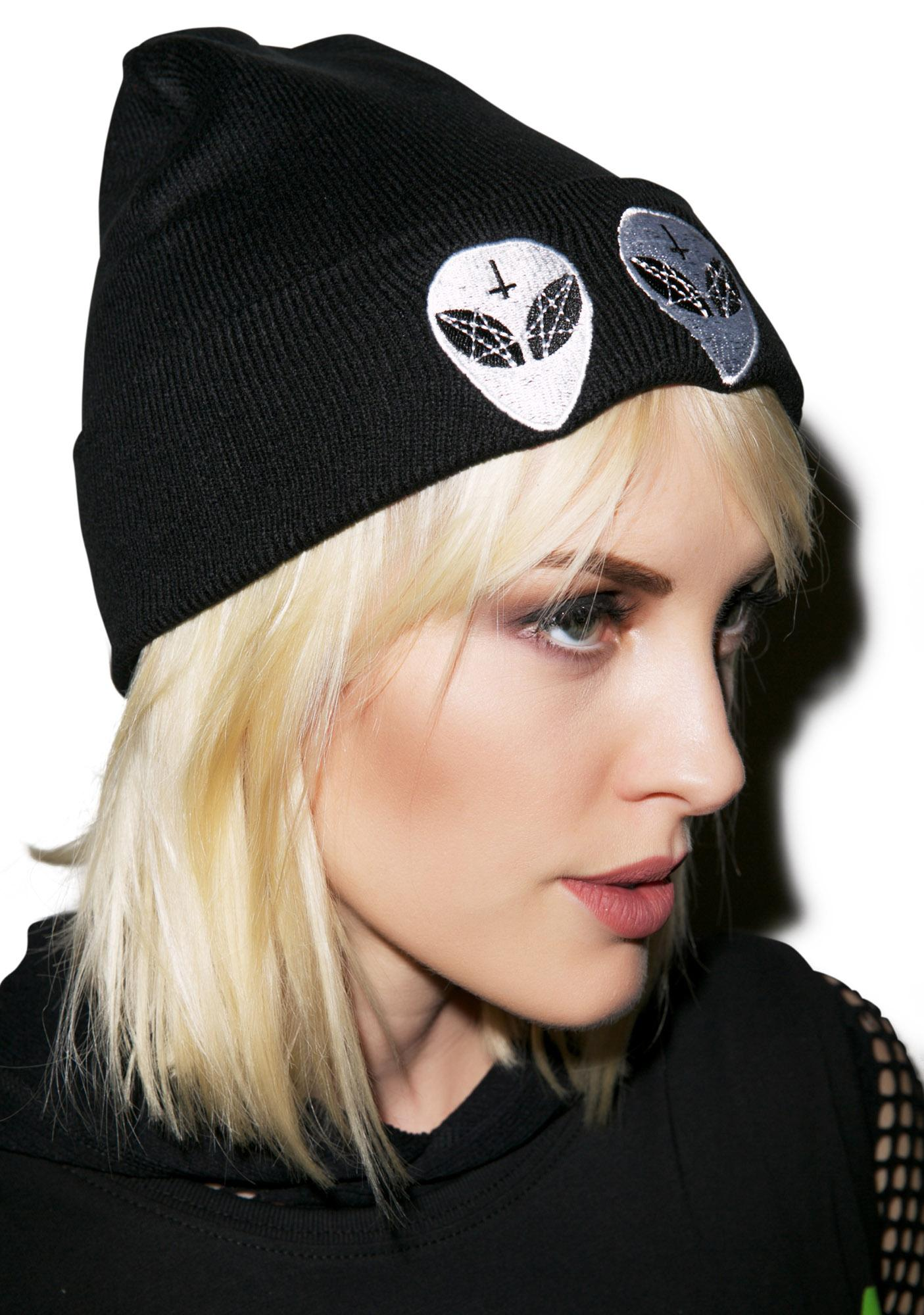 Killstar Earthlings Beanie
