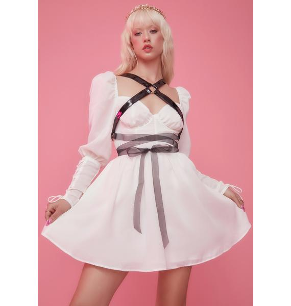 Sugar Thrillz Neptune's Revenge Mini Dress And Harness Set
