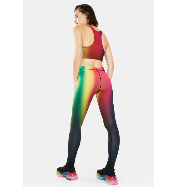 Terez Rainbow Visions Sport Leggings