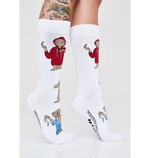 Alien In Disguise Crew Socks