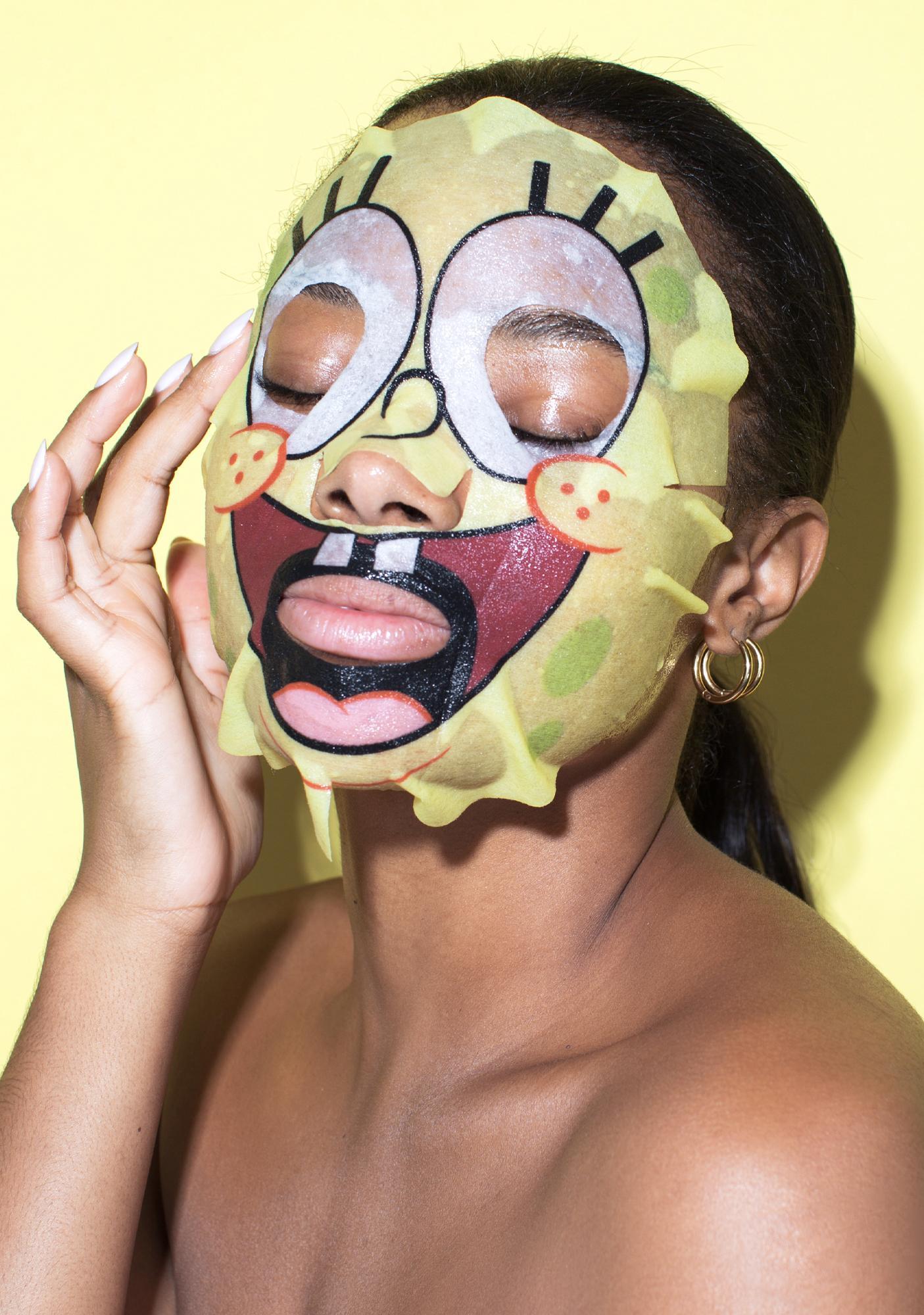 HipDot Spongebob Best Friends Best Face Ever Facemask