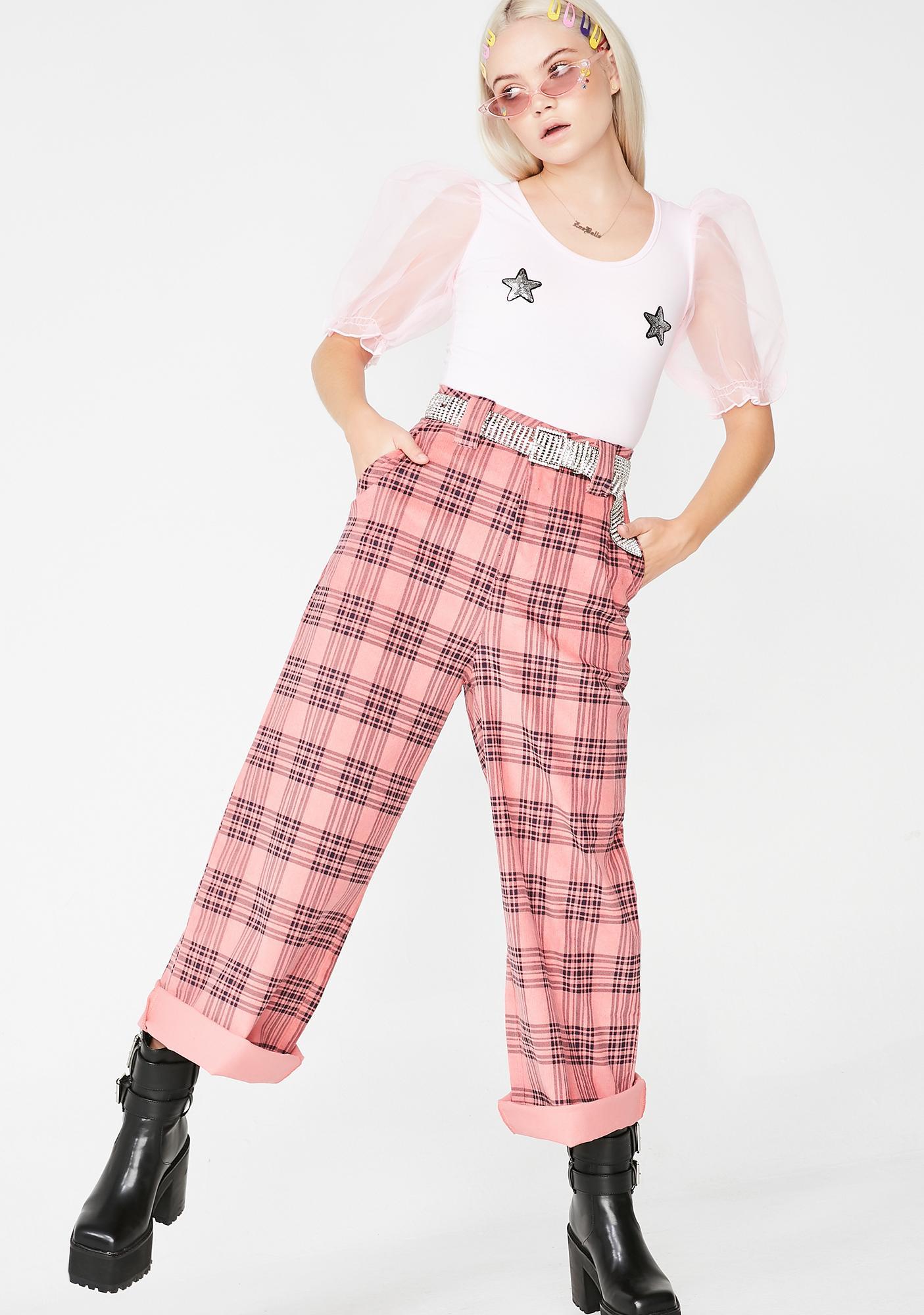 Lazy Oaf Star Boob Bodysuit