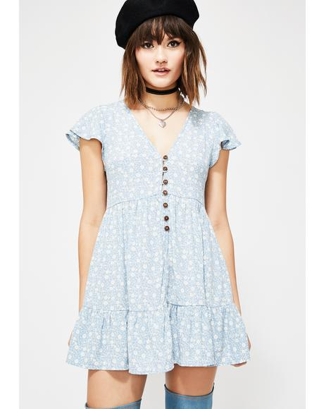 Lucid Dreaming Floral Dress