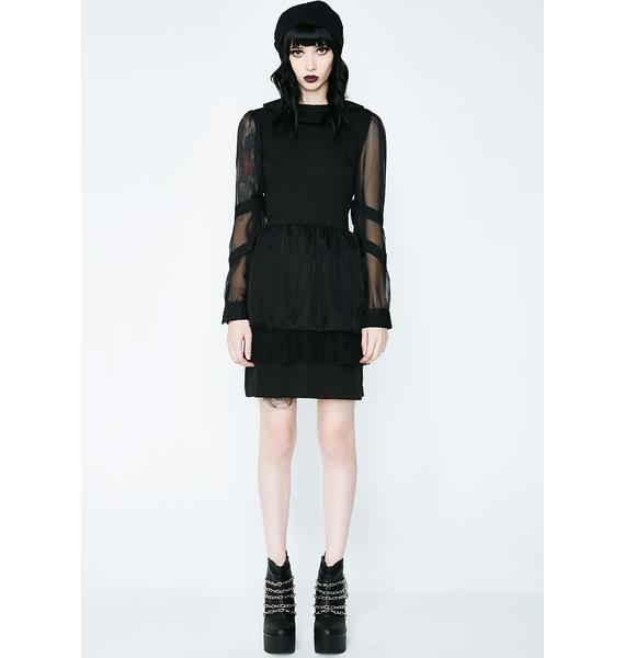 Disturbia Sceptic Gossimer Dress