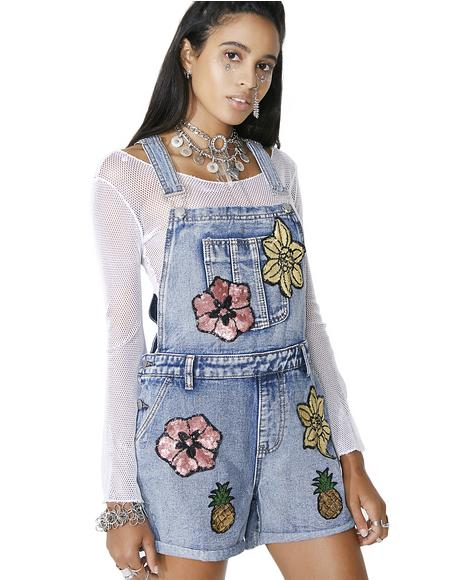 Full Bloom Shortalls