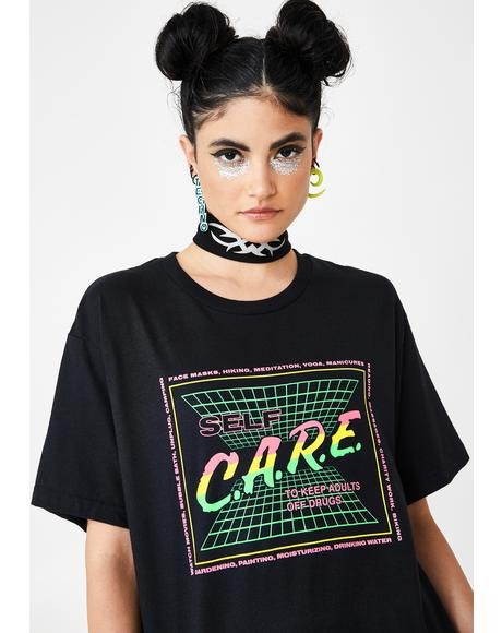 Self Care Graphic Tee