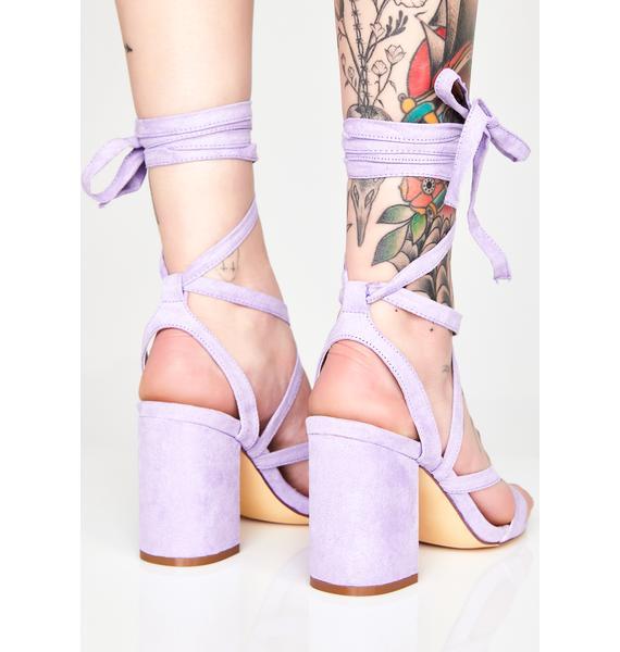 Pixie Walk My Way Wrap Heels