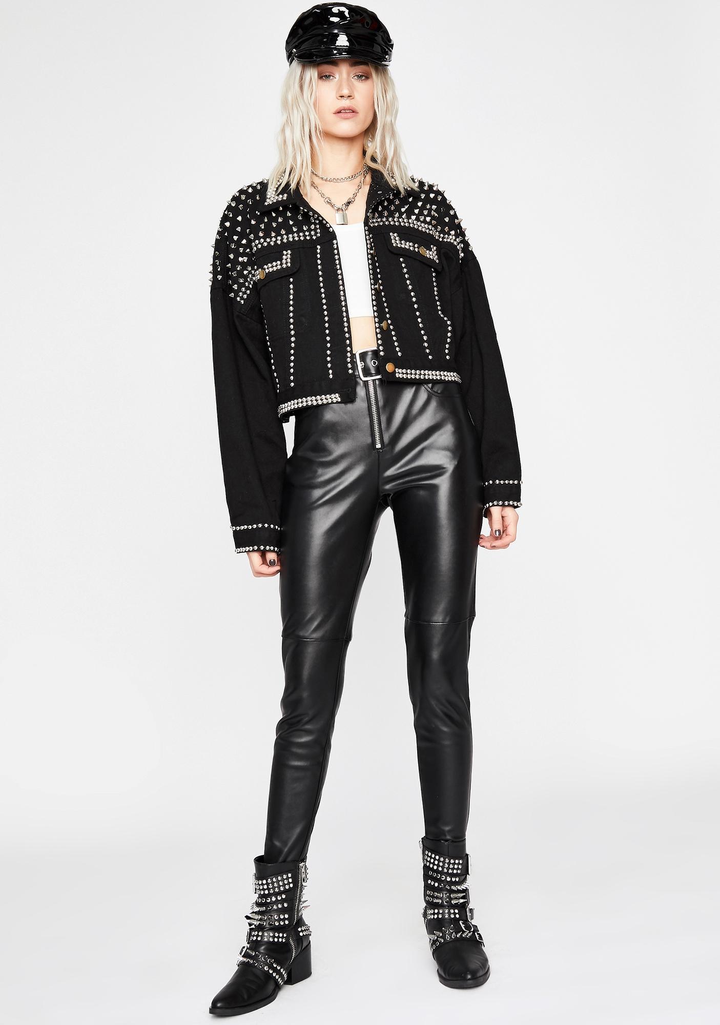 Wicked Ready To Rock Studded Jacket