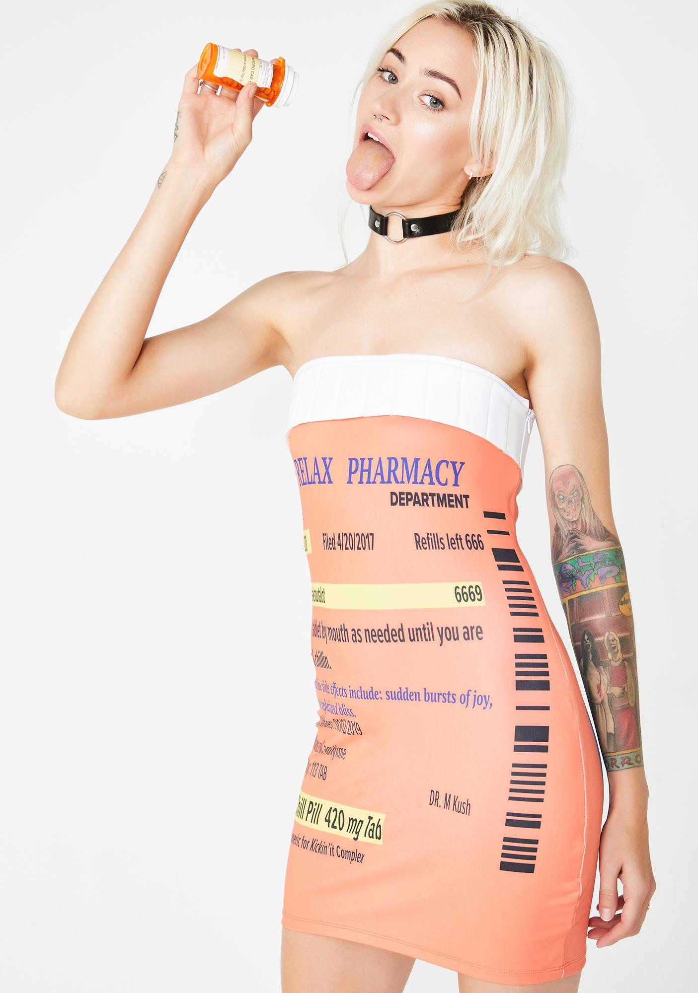 Dolls Kill Pill Head Costume
